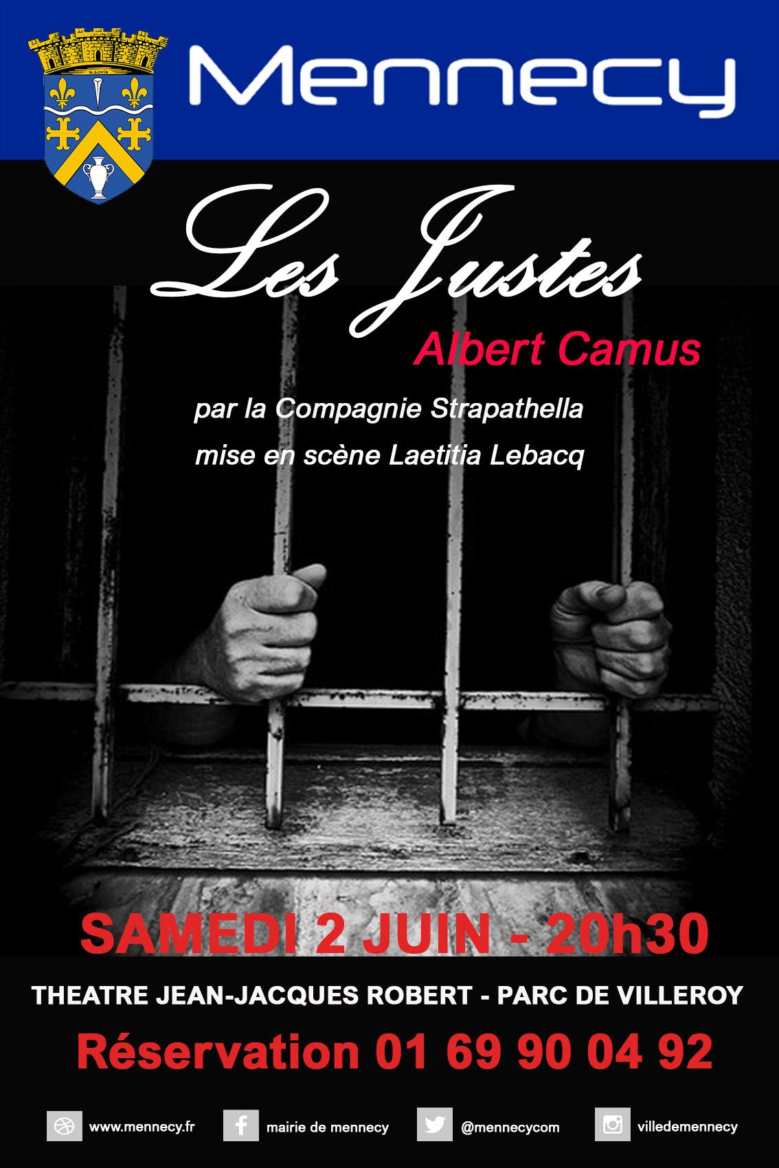 Les Justes @ ESPACE CULTUREL JJ ROBERT
